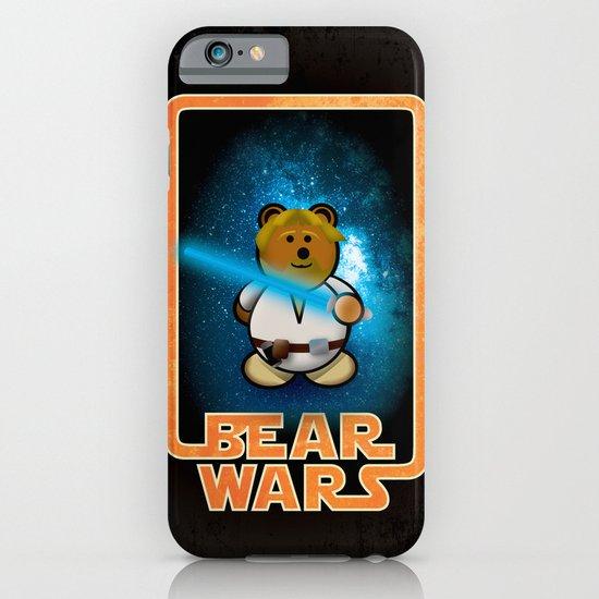 Bear Wars - Duke Cubpoker iPhone & iPod Case