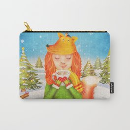 Happy New Year Card . Greeting Card For 2018 ! Carry-All Pouch