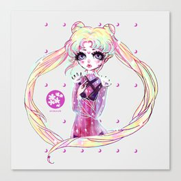 moon power ❤ usagi Canvas Print