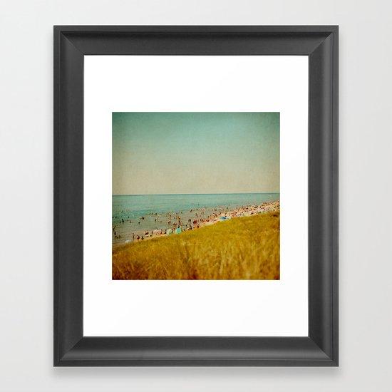 The Last Days of Summer Framed Art Print