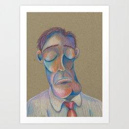 Mr. Clarence (The Gentlemen Series) Art Print