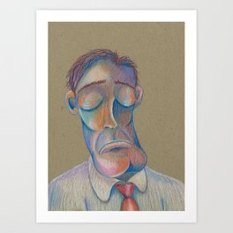 Mr. Clarence (The Gentlemen Series) Art Print