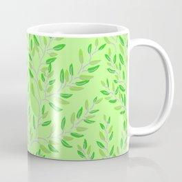 Purple and Green Vines Coffee Mug