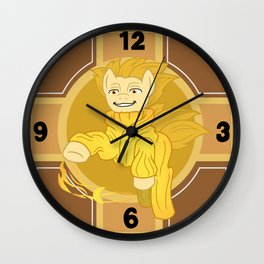 ROTG Pony Sandy Wall Clock