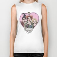 hocus pocus Biker Tanks featuring It's all a bunch of Hocus Pocus by Tiffany Willis