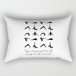 YOGA QUOTES Rectangular Pillow