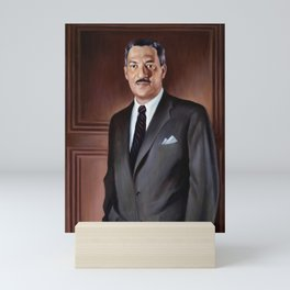 Thurgood Marshall Painting - Betsy Graves Reyneau Mini Art Print