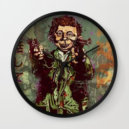 What Me Worry ? Wall Clock