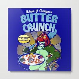 Adam and cringer's Butter Crunch Cereals Metal Print