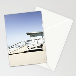 Hermosa Beach Tower 5 Stationery Cards