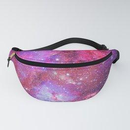 Pink Star Galaxy Fanny Pack