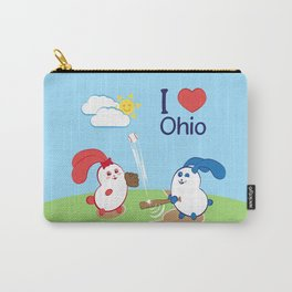 Ernest and Coraline | I love Ohio Carry-All Pouch