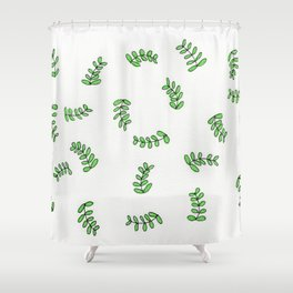 Fond of Fronds Shower Curtain