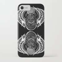egyptian iPhone & iPod Cases featuring Egyptian Scarab by BIOWORKZ