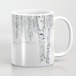 Swedish Birch Trees Coffee Mug