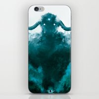 shadow of the colossus iPhone & iPod Skins featuring The Colossus by kriztille
