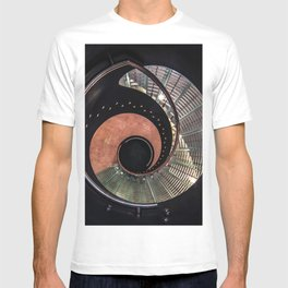 Spiral glass staircase T-shirt