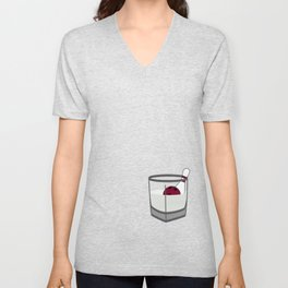 Hey, careful, man, there's a beverage here!  Unisex V-Neck