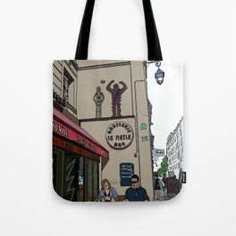 Le Nesle Bar Tote Bag