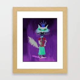 'Magdalena Goes Incognito' Framed Art Print