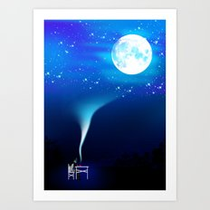 I guess that's why they called it the Blues Art Print