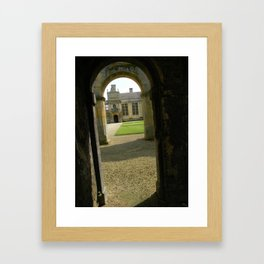 Arches at Kirby Hall Framed Art Print