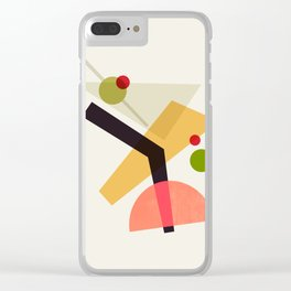 Cocktail IV Martini Clear iPhone Case
