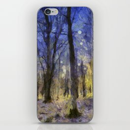 The Forest Van Gogh iPhone Skin