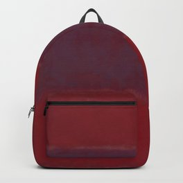 1959 No. 301 Red and Blue Over Red by Mark Rothko HD Backpack