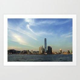 Hong Kong Sky Art Print