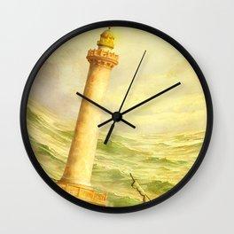 The Fall of Alexandria Wall Clock