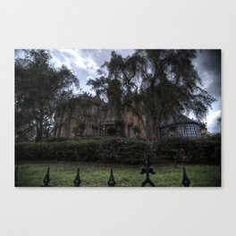 A Very Haunted Mansion Canvas Print