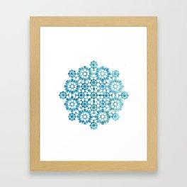 IG turquoise II Framed Art Print