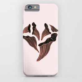 Shroom heart iPhone Case