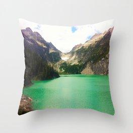 Turquoise Escape Throw Pillow