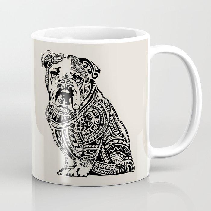Polynesian English Bulldog Coffee Mug