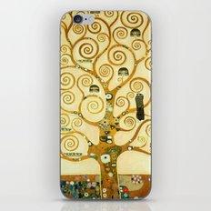 Gustav Klimt The Tree Of Life iPhone & iPod Skin