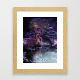 Atlas Holding the Sky Framed Art Print
