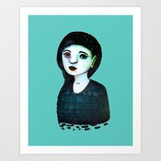 Night Girl III Art Print