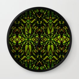 Fractal Art Stained Glass G313 Wall Clock