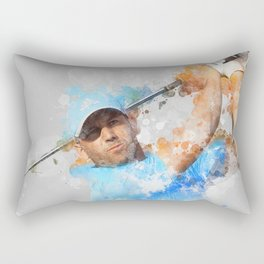 Sergio Garcia Rectangular Pillow