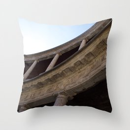 Light and shadow V Throw Pillow