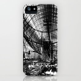 Airship under construction iPhone Case