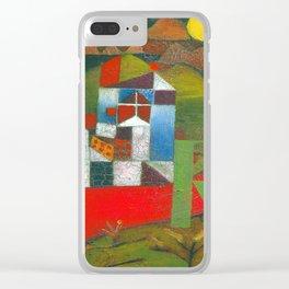 Paul Klee Villa R Clear iPhone Case