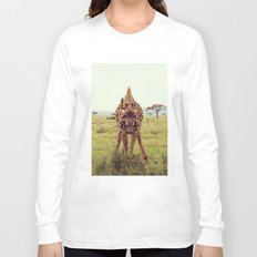 Giraffe Wants to Know Long Sleeve T-shirt