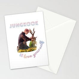 BTS Love Yourself Answer Design - Jungkook Stationery Cards