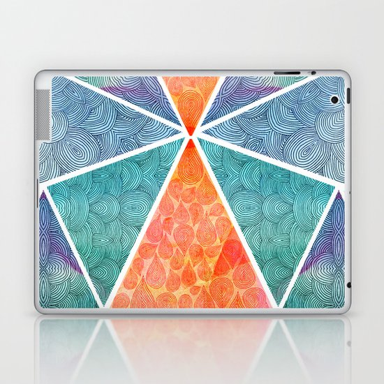 Pyramids of Giza Laptop & iPad Skin