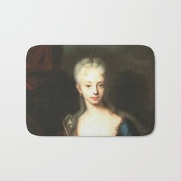 Maria Theresa before She Was Empress  Bath Mat