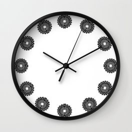 Metalwork papercut  Wall Clock
