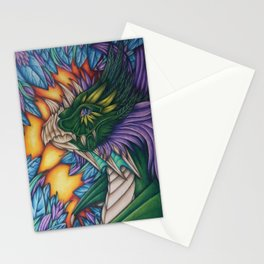 Forest Dragon Stationery Cards